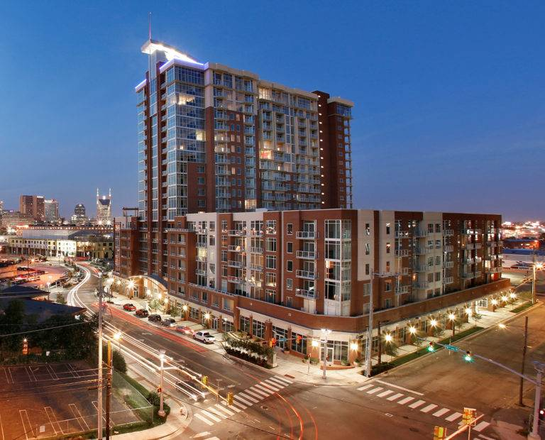 Icon in the Gulch, Nashville, Choate Construction Company