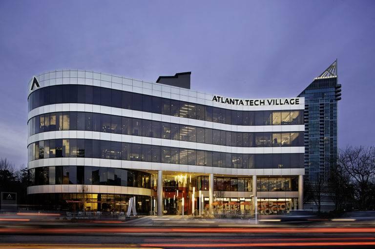 Atlanta Tech Village Award Winning Corporate Interior Construction Renovation