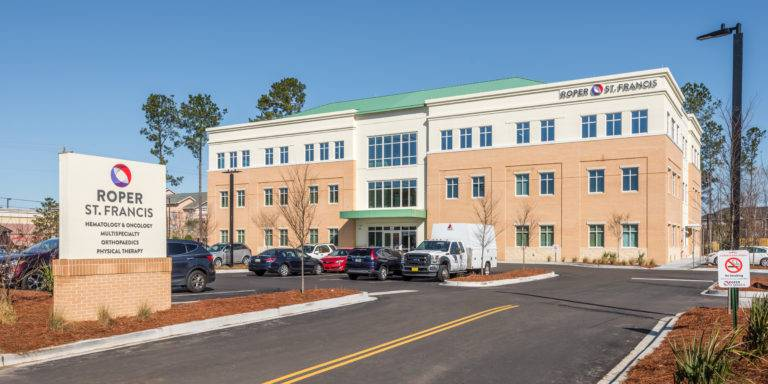Roper Medical Office Building, North Charleston, Choate Construction Company, Healthcare Construction