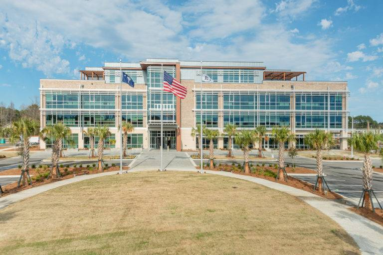 South Carolina State Ports Authority Office, Choate Construction Company, Charleston, Corporate Office