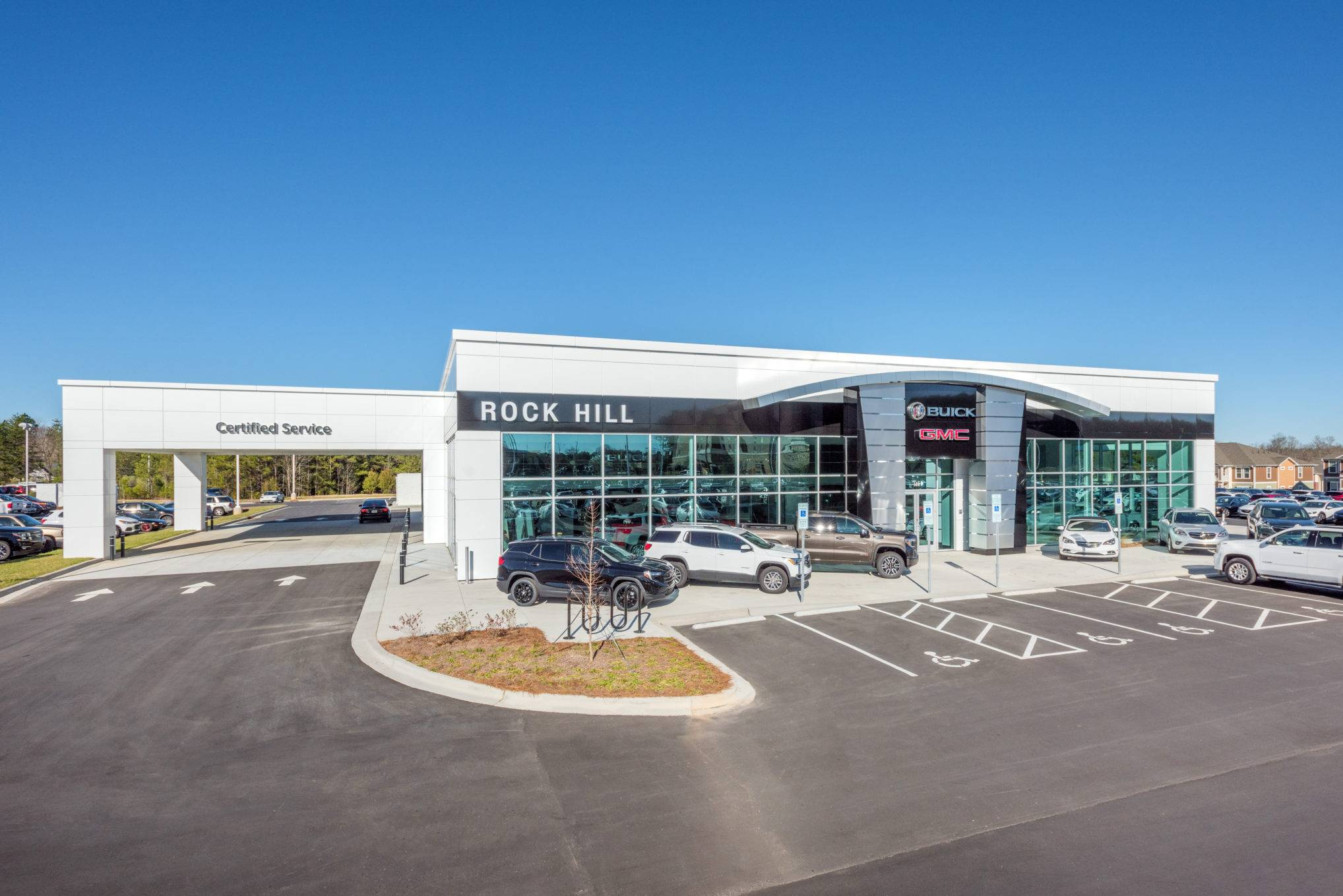 Rock Hill Buick Gmc Projects Choate Construction