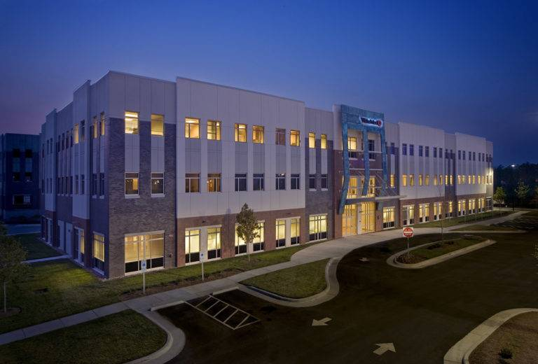 WakeMed, Brier Creek Medical Office Building, Raleigh, Choate Construction Company Healthcare Construction