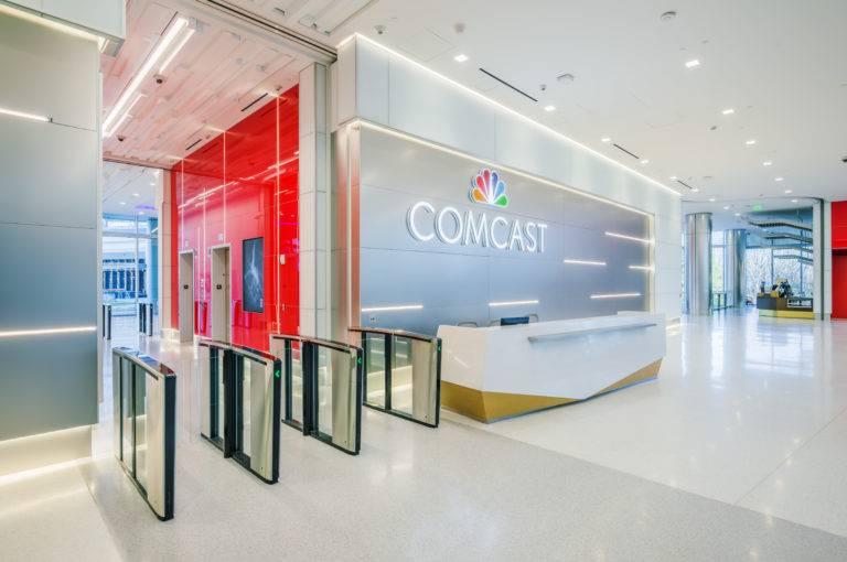 Comcast Regional Headquarters Atlanta Office Choate