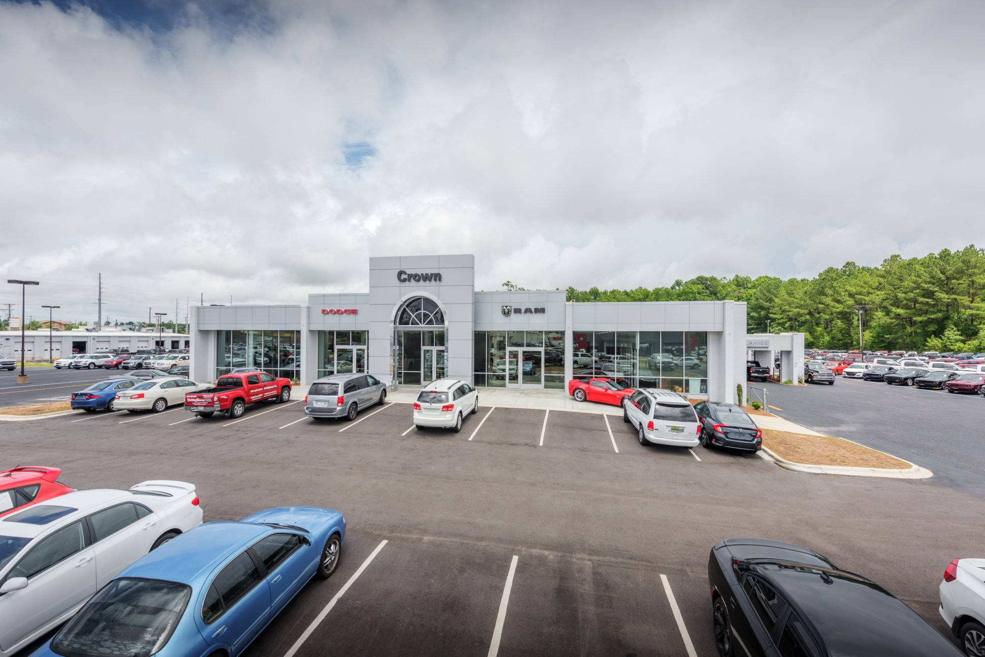 Crown Dodge Fayetteville Projects Choate Construction