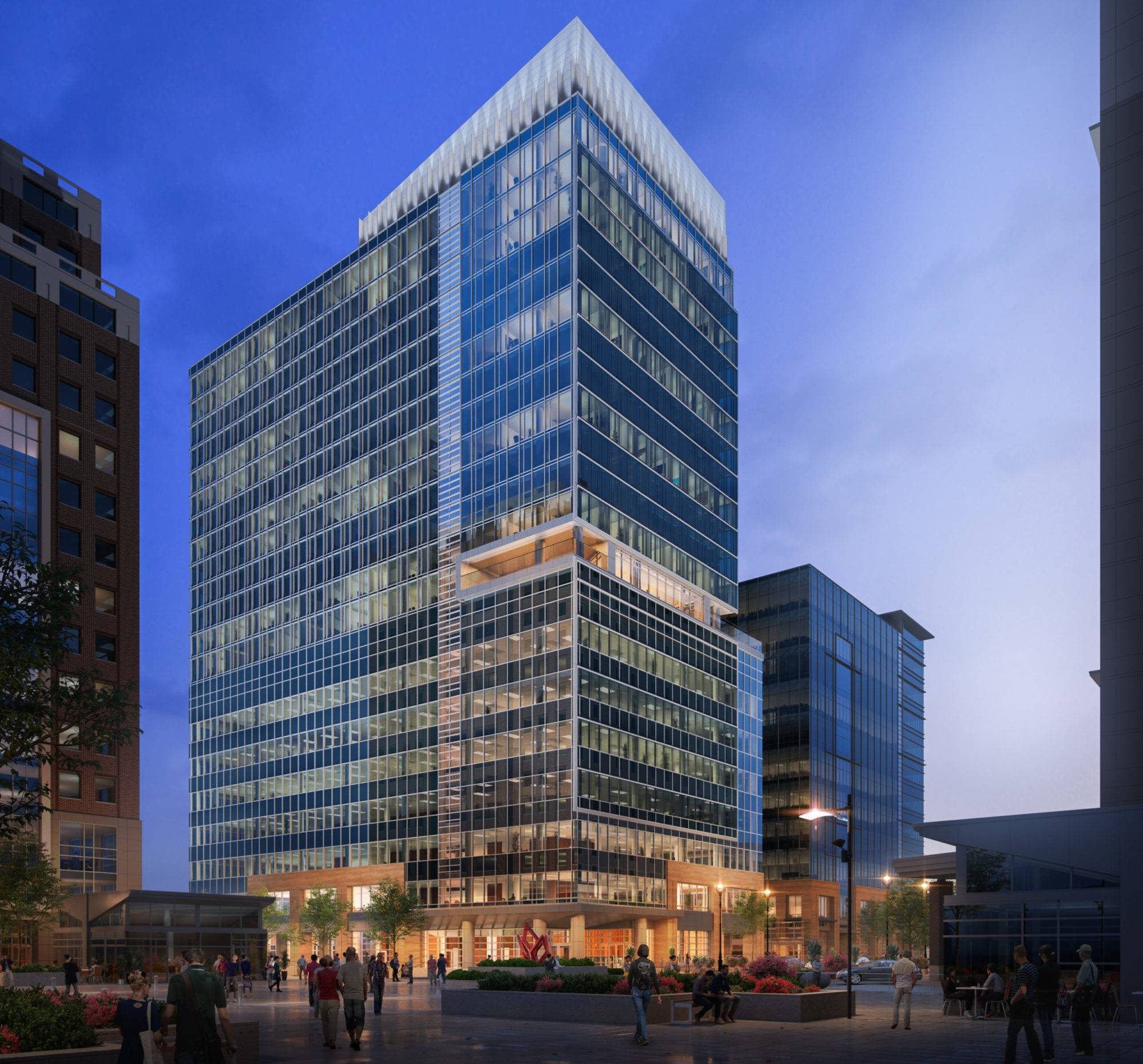FNB Tower at 501 Fayetteville Street | Projects | Choate