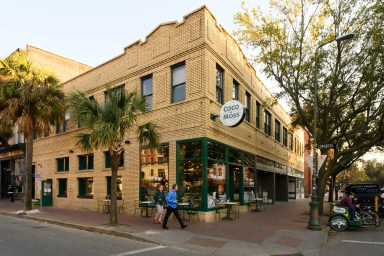 Coco and Moss, Savannah Restaurant, Choate Construction Company