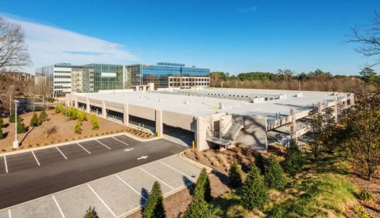 Westside Parking Deck, Fiserv, Atlanta, Choate Construction Company
