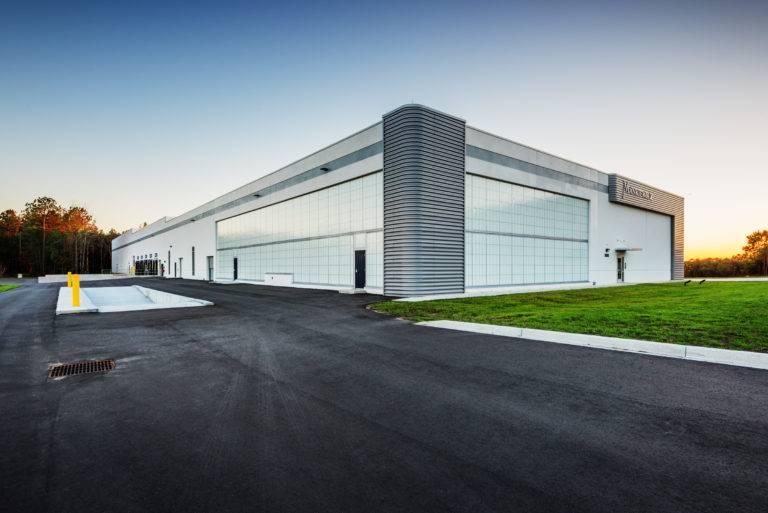 Mankiewicz Coatings Production Facility, CHarleston, Choate Construction Company
