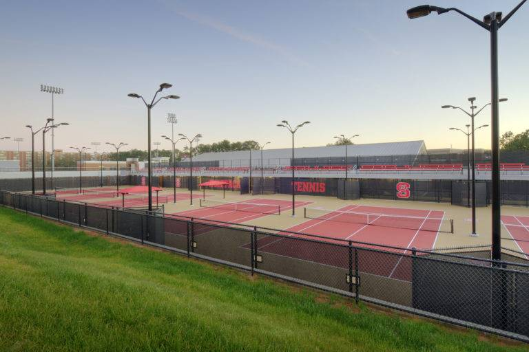 JW Isenhour Tennis Complex Expansion at North Carolina State University