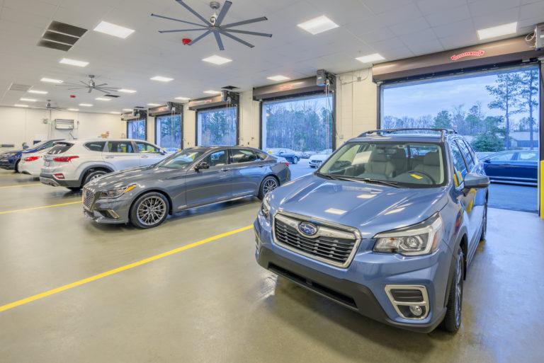 Johnson Automotive Service Bays
