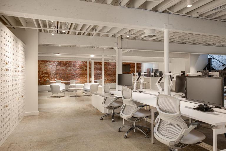 Havas Annex Bookstore Adaptive Reuse Corporate Construction