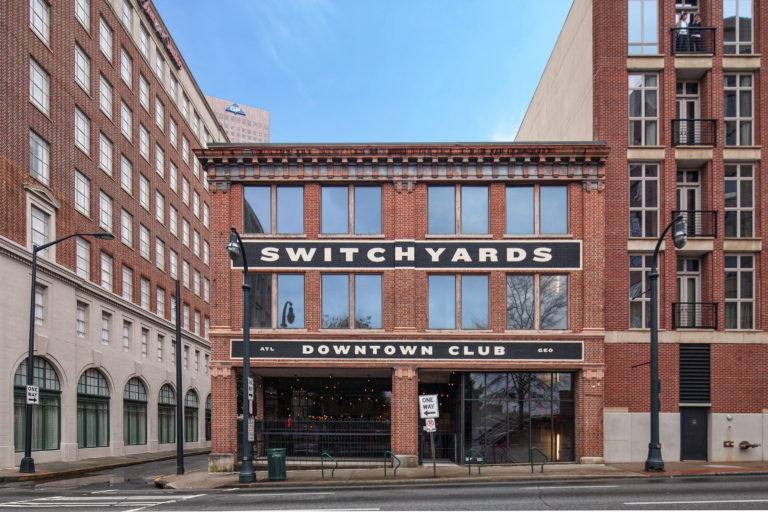 Switchyards Downtown Club Atlanta Choate Construction Adaptive Reuse Project