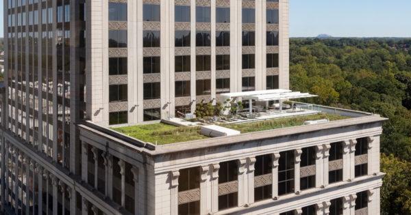 Resurgens Plaza Rooftop Plaza After Atlanta