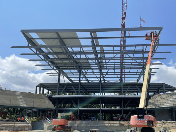 Credit One Topping Out Image